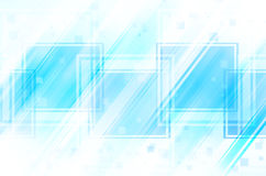 Abstract blue background. Abstract blue square on white background stock illustration