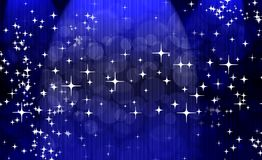 Abstract blue background. Abstract star shine universe background Royalty Free Stock Images