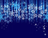 Abstract blue background with stars Royalty Free Stock Image