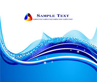 Abstract blue background. Stock   Illustration Stock Photo