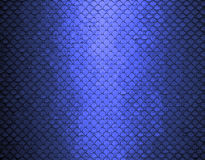 Abstract blue background texture. Abstract grid background texture pattern design, mesh grill background circle colored glossy shape metallic metal grill royalty free illustration