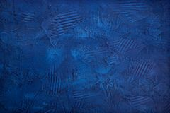 Abstract blue background. Abstract blue textured background. Acryl royalty free stock photography