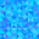 Abstract Blue Background with Triangle Shape. Vector Royalty Free Stock Photos