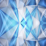 Abstract blue background. Vector stock illustration