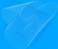 Abstract  blue background - vector Stock Photography