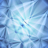 Abstract blue background. Vector Royalty Free Stock Images