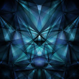 Abstract blue background. Vector Royalty Free Stock Photography