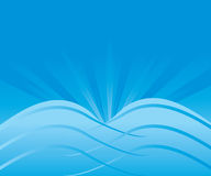 Abstract Blue Background Vector Royalty Free Stock Photo