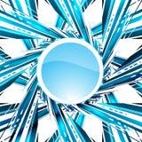 Abstract blue background. Vector illustration. Clip-art royalty free illustration