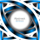 Abstract blue background. Vector Illustration Royalty Free Stock Images