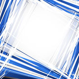 Abstract blue background. Vector illustration Stock Photography