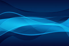 Abstract blue background - veil texture. Abstract blue background, wave, veil or smoke texture - computer generated picture Royalty Free Stock Images
