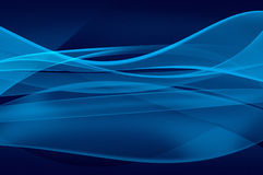 Abstract blue background, veil texture. Abstract blue background, wave, veil or smoke texture - computer generated picture Royalty Free Stock Image