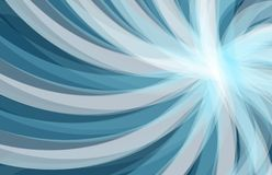 Abstract blue background, wave. Illustration design graphic Royalty Free Illustration