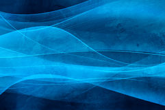 Abstract blue background, wave and vevlet texture Stock Photo