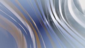 Abstract blue background with wavy motion rays stock footage
