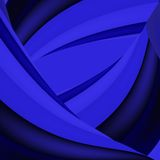 Abstract blue background. Blue background, wavy wallpaper, abstract wave Royalty Free Stock Photos