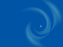 Abstract blue background with white. Blurred circles  shapes Stock Photography