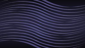 Abstract blue backgrounds. Geometric lines on the black background. Wave line backdrop stock illustration
