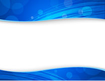 Abstract blue backgrounds for header and footer Royalty Free Stock Images