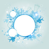 Abstract blue banner Stock Photos