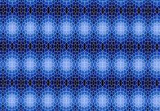 Abstract blue black block pattern wallpaper. Royalty Free Stock Photography
