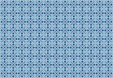 Abstract blue blocks pattern wallpaper Royalty Free Stock Image