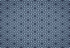 Abstract blue blocks pattern wallpaper Royalty Free Stock Photography