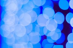 Abstract blue bokeh background. Close up bokeh lights. Circle shape bokeh. Abstract blue bokeh background. Deep blue wallpaper with bokeh effects royalty free stock photos
