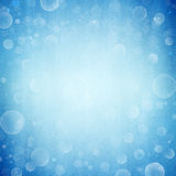 Abstract blue bokeh background Stock Photography