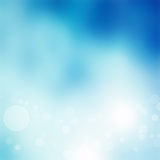Abstract blue bokeh background Royalty Free Stock Photo