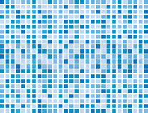 Abstract Blue Boxes Royalty Free Stock Photo