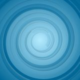 Abstract blue bright circles background Stock Image