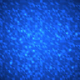 Abstract blue bright triangles background Royalty Free Stock Image