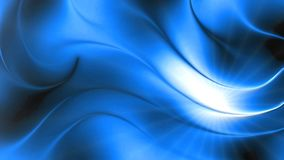 Abstract blue bright wave 3d lines background Royalty Free Stock Photography