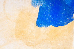 Abstract blue and brown arts background Royalty Free Stock Photos
