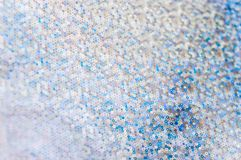 Abstract Blue-brown background with small circles, for party inv Stock Photography