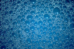 Abstract Blue Bubble Background Royalty Free Stock Photo