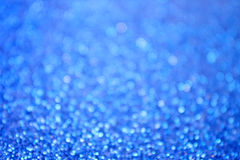 Abstract Blue Background. An abstract blue bokeh background Stock Photos