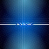 Abstract blue business background with triangles Stock Images