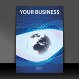 Flyer or Cover Design - Business Royalty Free Stock Photos