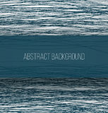 Abstract blue chaotic sketch lines background and Royalty Free Stock Photo