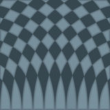Abstract blue checkered pattern background. Vector illustration Royalty Free Stock Photography