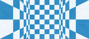 Abstract blue checkered texture Royalty Free Stock Photography