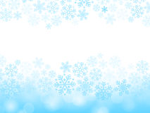 Abstract blue christmas background Stock Image