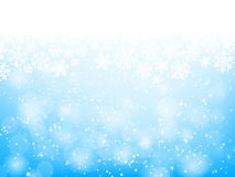 Abstract blue christmas background Royalty Free Stock Photo