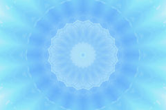 Abstract blue circle background Royalty Free Stock Photography