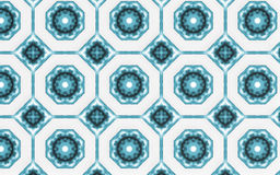 Abstract blue circle pattern background Stock Image