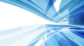Abstract Blue Clean Background with copyspace Royalty Free Stock Image