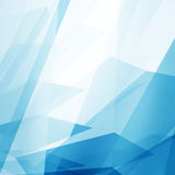 Abstract Blue Clean Background with copyspace Royalty Free Stock Photos